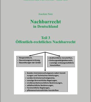 Nachbarrecht in Deutschland Teil 3: Öffentlich-rechtliches Nachbarrecht